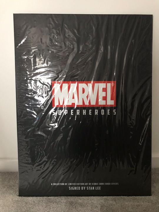 Marvel Stan Lee Signed prints - Chalkonline