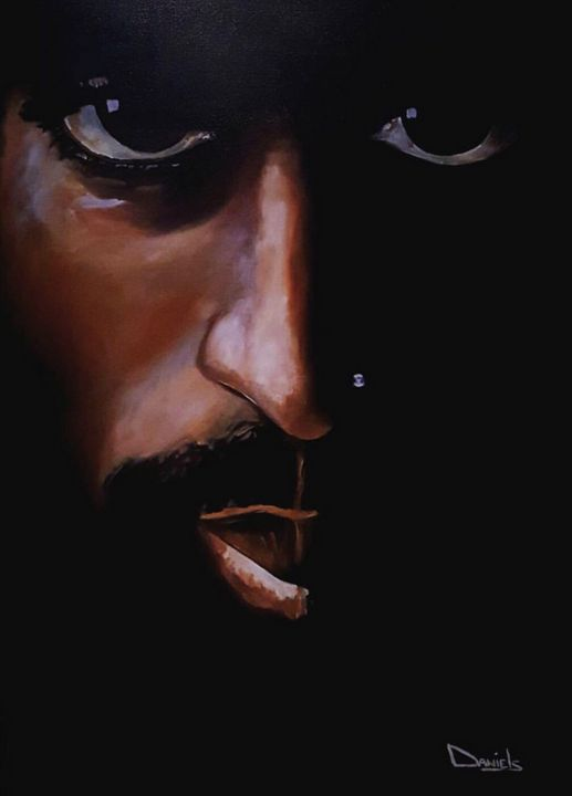 2Pac - Leonard Daniels Art