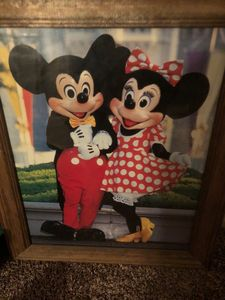Vintage Mickey & Minnie Mouse photo - Lost tresures