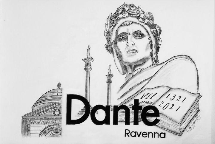 Dante Alighieri VII CENTENARIO - De Saporettis
