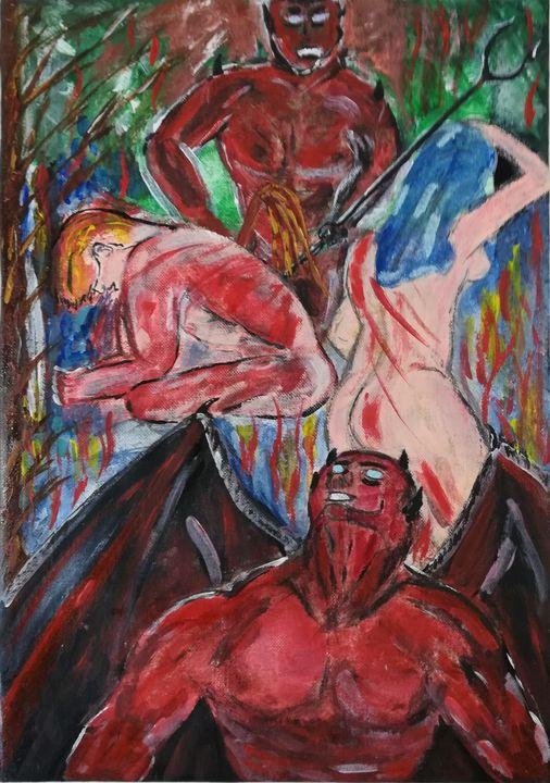 Inferno di Dante - De Saporettis