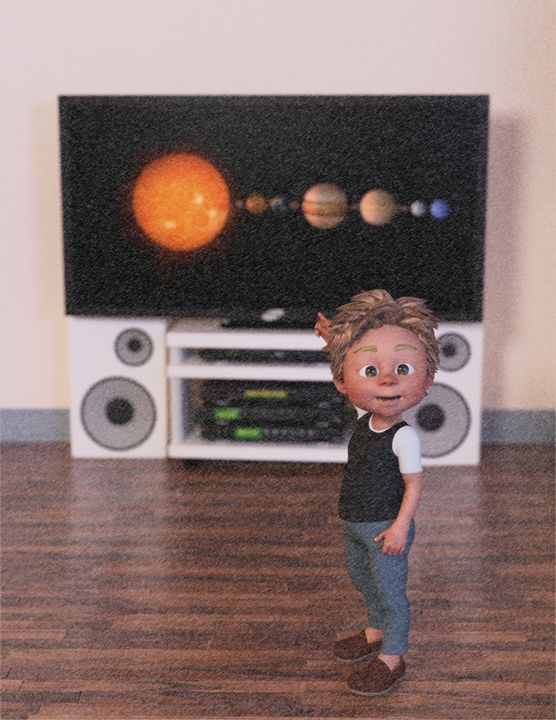 The Planets - Les planètes (crayons) - Victor Daniel