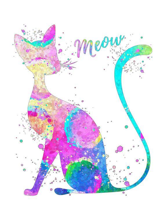 Abstract Cat - Zuzi's