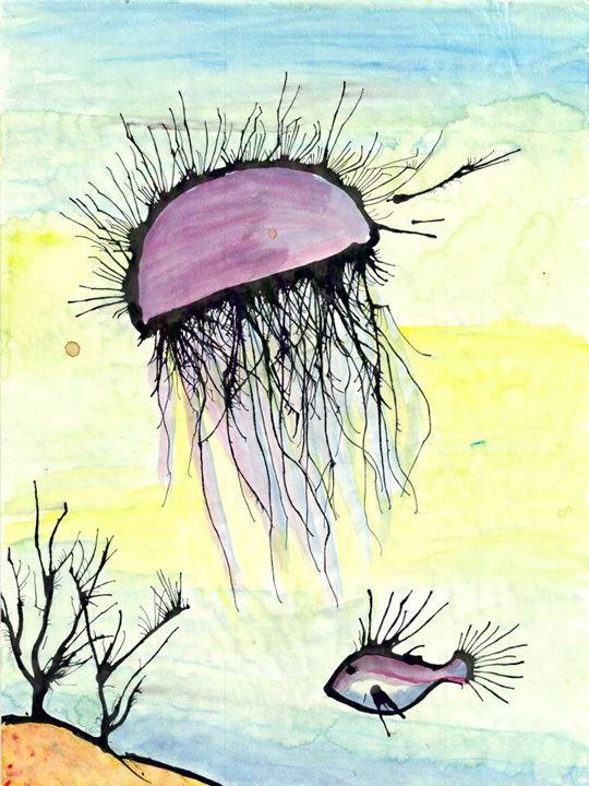 jelly fish at the reef - Miranda's Veranda
