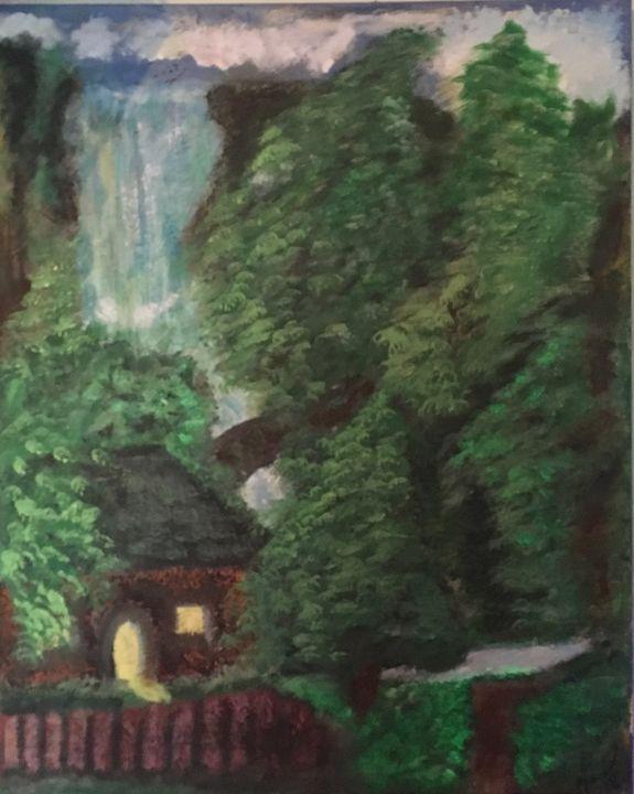 Shanty and Waterfall - Salvatore Rizzo