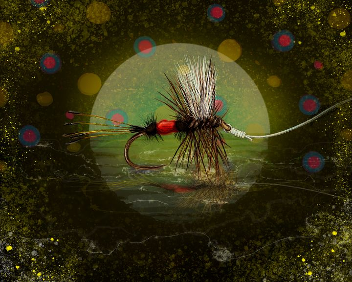 Royal Wolf Brook Trout Dreams - FishWearDesigns
