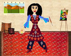 Afghan Women Artists