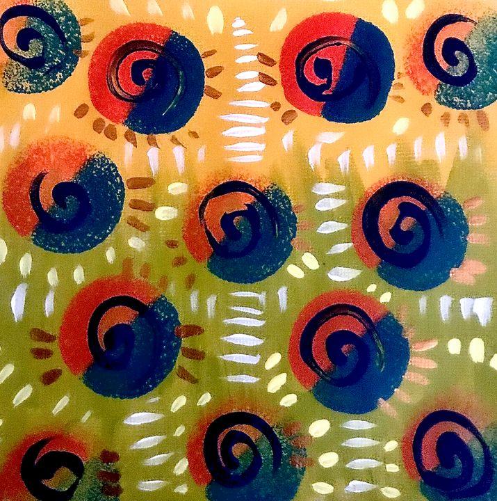 Circle Swirls - homayra elsayed