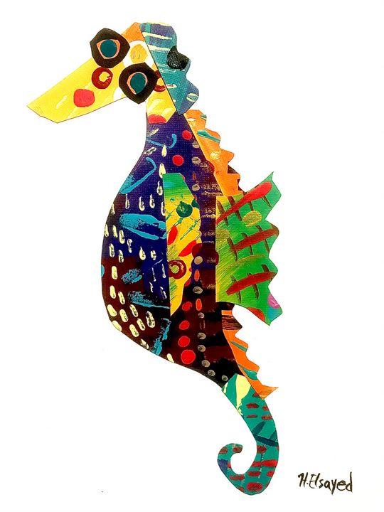 Sea Horse - homayra elsayed