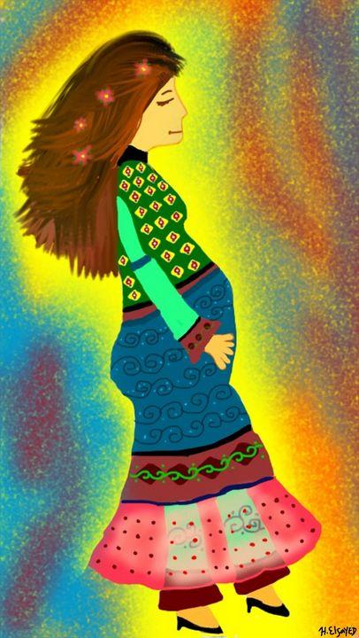 Beautiful Pregnancy - homayra elsayed