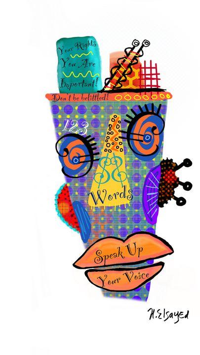 Speak Up - homayra elsayed