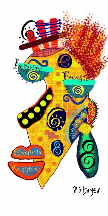 Creativity to inspire - homayra elsayed