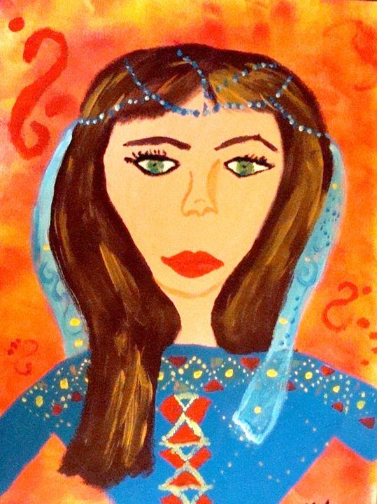 Afghan lady fashion Designer - AfghanArtist