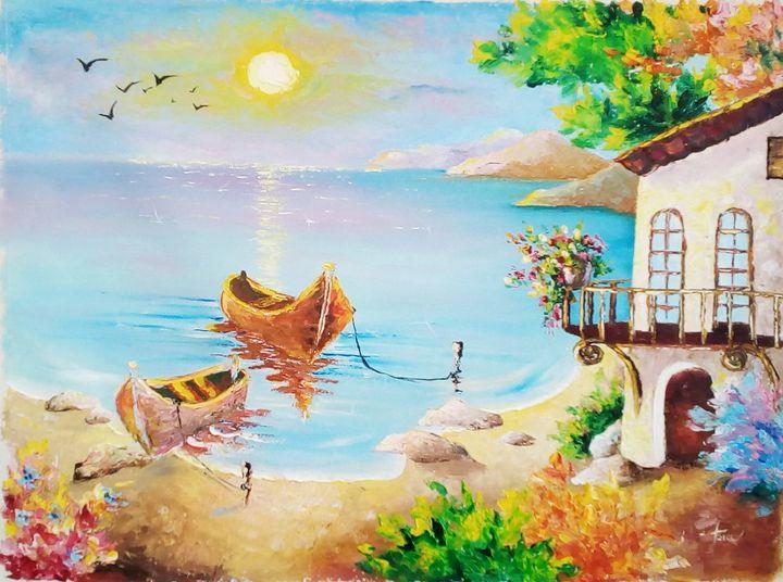 ''Sea melody'' - AsiArt