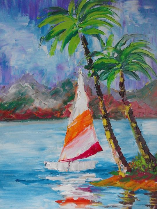 ''Sailing boat'' - AsiArt
