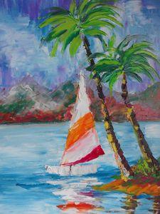 ''Sailing boat''