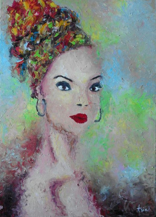 ''African beauty'' - AsiArt