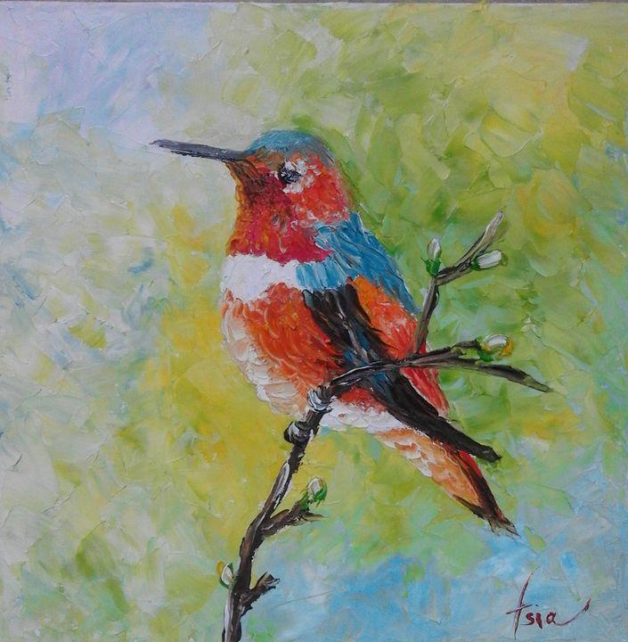 ''Bird 2'' - AsiArt