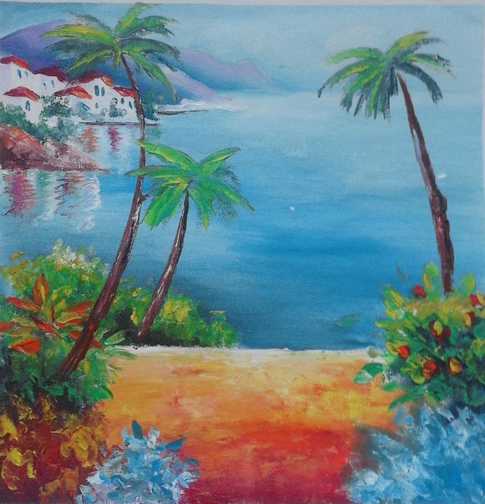 Greek sea - AsiArt