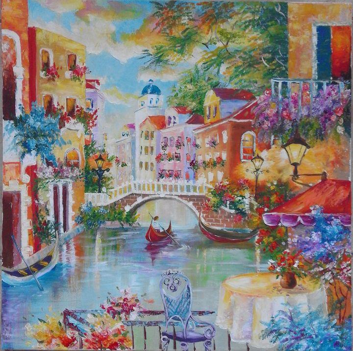 ''Grand Canal Venuce'' - AsiArt