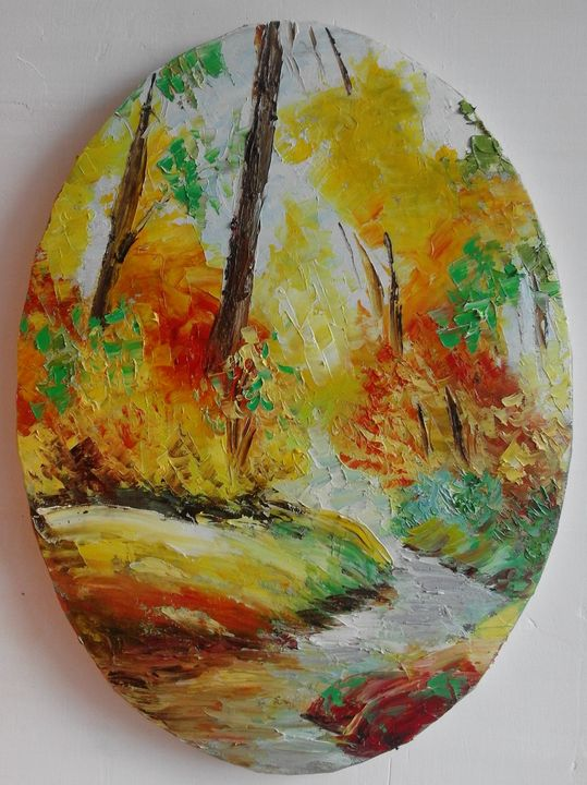 ''Autumn forest'' - AsiArt