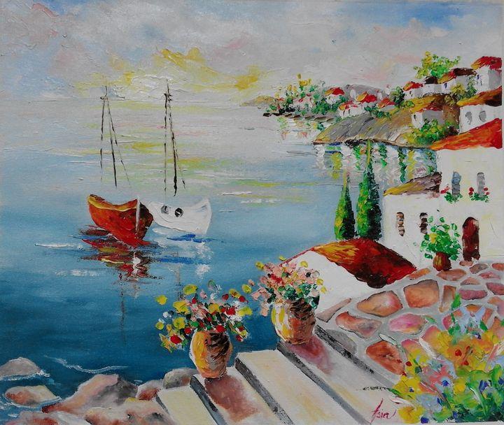 ''Island Seascape '' - AsiArt