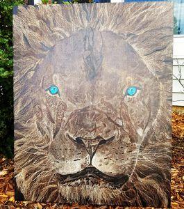 Old Blue Eyes - Carolina Yankee Decor