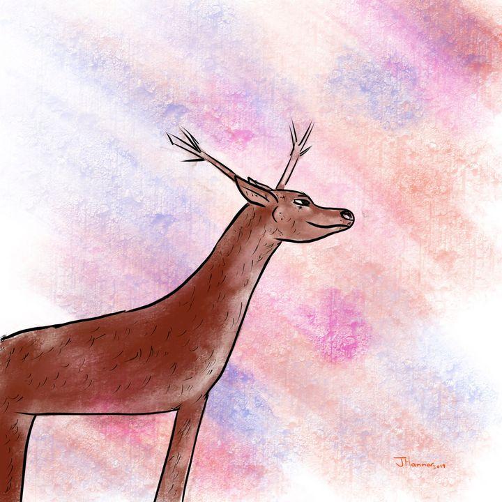 Reindeers Optimism - Hammar.arts