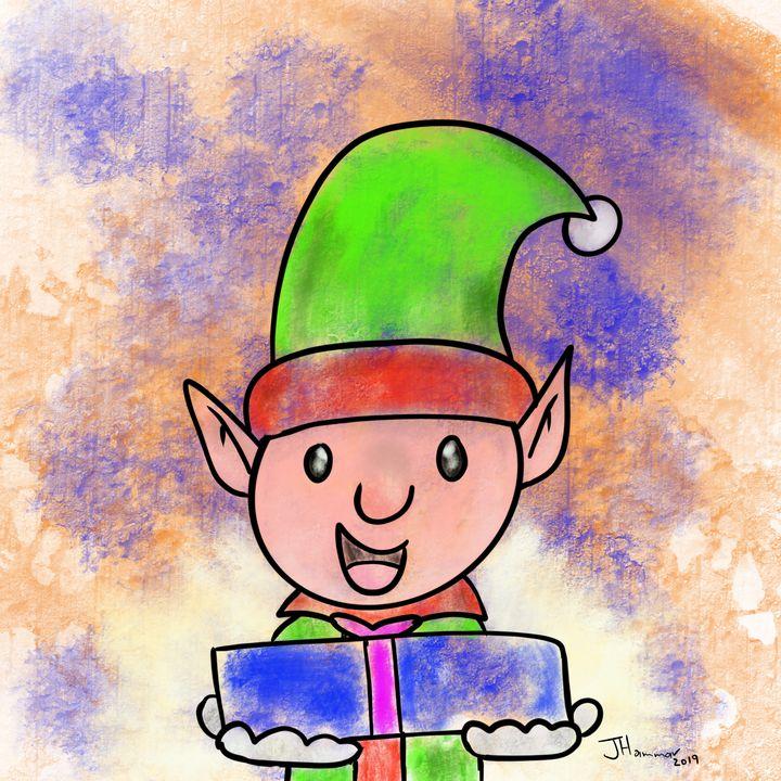 The gift giving elf - Hammar.arts