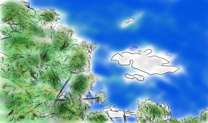The trees and sky - Hammar.arts