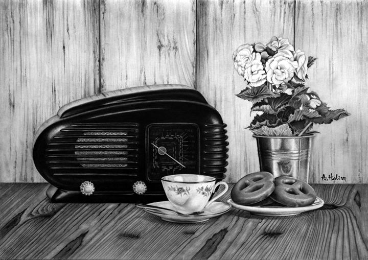 Still life, Memories - A. Halim Khalifa