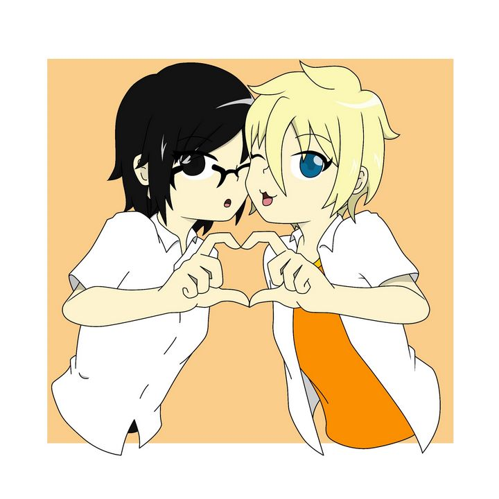 Anime girls heart - Andriana121