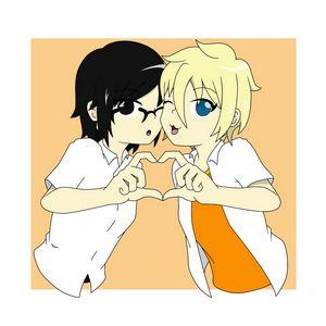 Anime girls heart