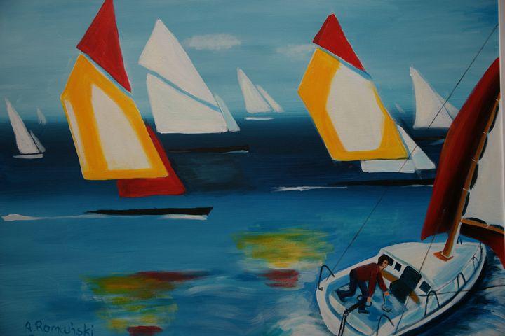 Boats race - GalerieMansart