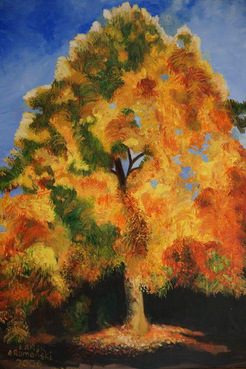 Autumn tree - GalerieMansart