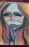 Sad girl Original painting