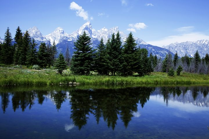 Views of the beauty of Grand Tetons - Mark Smith Nature Photography