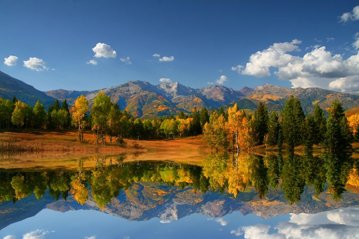 High mountain lake - Mark Smith Nature Photography
