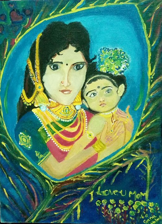 Mother and child - Gana valmiki