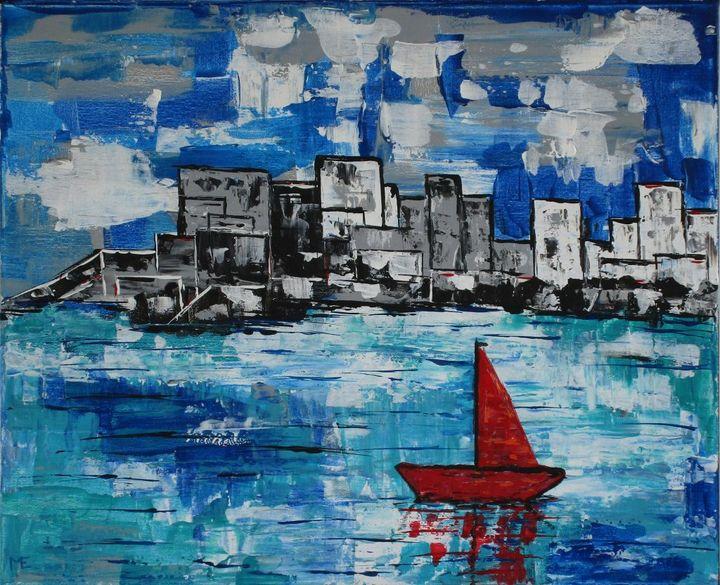 The Red Boat - Arts de Bergerac