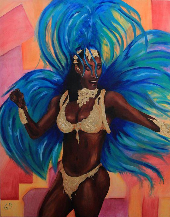 Brazilian Dancer - Gaelle Barret