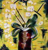 Original Painting Orchid
