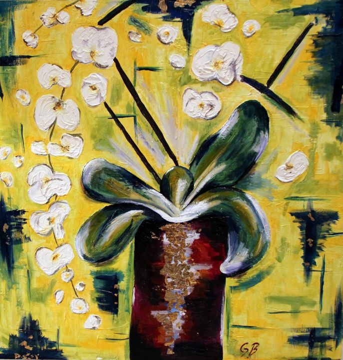 White Orchid - Gaelle Barret