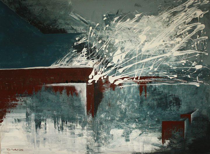 """""""Snow on Rooftops"""" - Rosana De Montfort"""