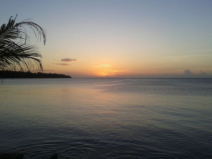 Sunset at James Bond Beach - Kelsey Adair