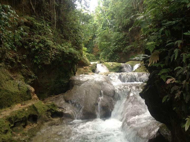 Blue Hole, St. Ann Jamaica - Kelsey Adair