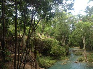 Blue Hole, St. Ann Jamaica