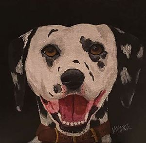 Happy Dal - M. Marie Art