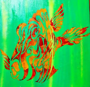 ABSTRACT FISH - STUCK@TheBEACH