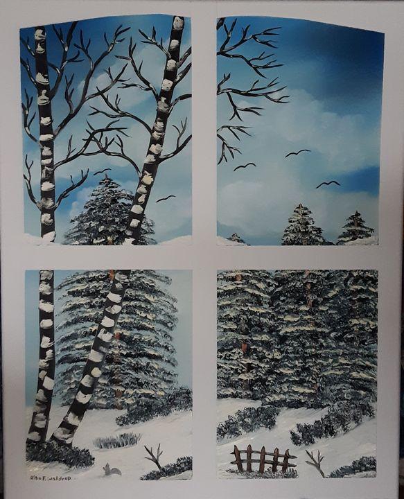 Winter Window Dreaming - Rita Waldrop
